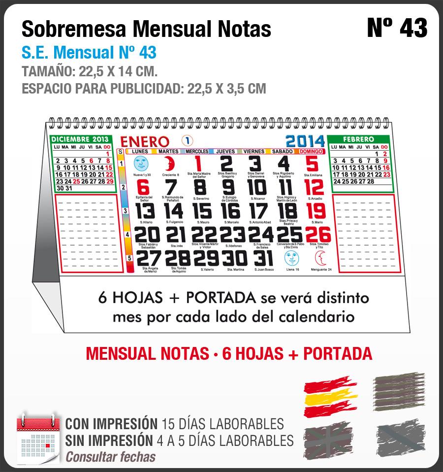 Calendarios Genérico Espiral - Bitmap · GRUPO PARA IMPRIMIR