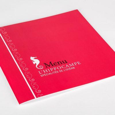 Catálogo Menú Plastificado
