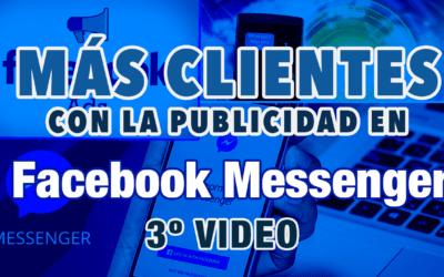 Mini curso MÁS CLIENTES con la publicidad en Facebook Messenger