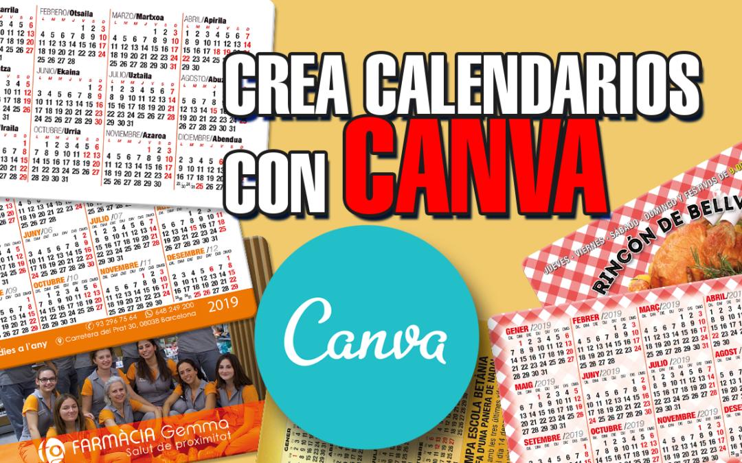 Curso para crear calendarios de Bolsillo con Canva